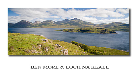 Photo Gallery ~ Ben More and Loch na Keall