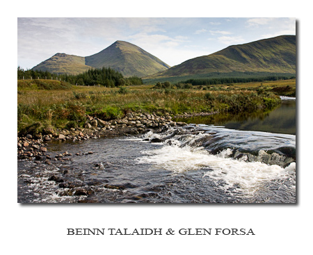 Photo Gallery ~ Beinn Talaidh and Glen Forsa